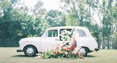 【婚攝2020】英倫的士裡花朵蔓生:傾瀉夢境花園中的婚攝靈感