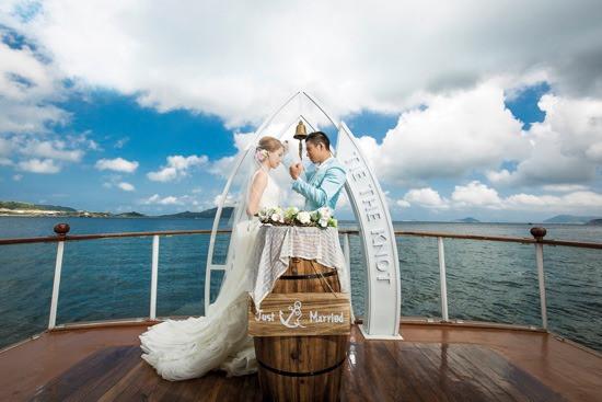 【婚禮場地2020】8個絕美海上輕婚禮場地,讓陽光與海為幸福妝點渡假氛圍