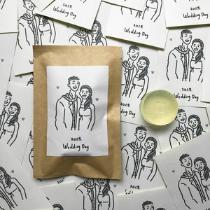 Wedfolks 2020最受歡迎結婚回禮 香氛森林 天然大豆蠟燭