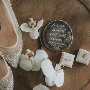 Wedfolks 2020最受歡迎結婚回禮 The Silver Lining Calligraphy 瑪瑙飾物
