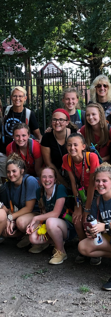 2019 NYC Mission Trip Girls Group