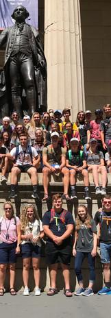 Фото группы миссионерской поездки Нью-Йорка 2019 года