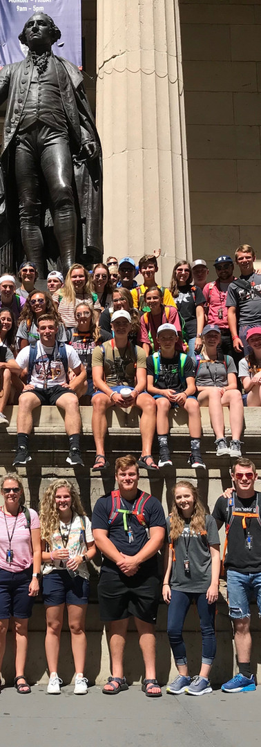 2019 NYC Mission Trip Group Photo