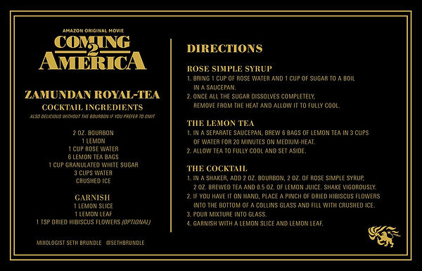 Coming 2 America - Zamundan Royal-Tea.jp
