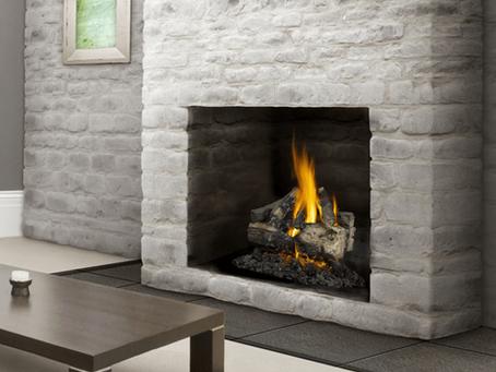 Fireplaces; Gas vs Wood Burning
