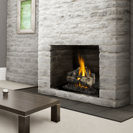 Fireplaces; Gas vs Wood Burning