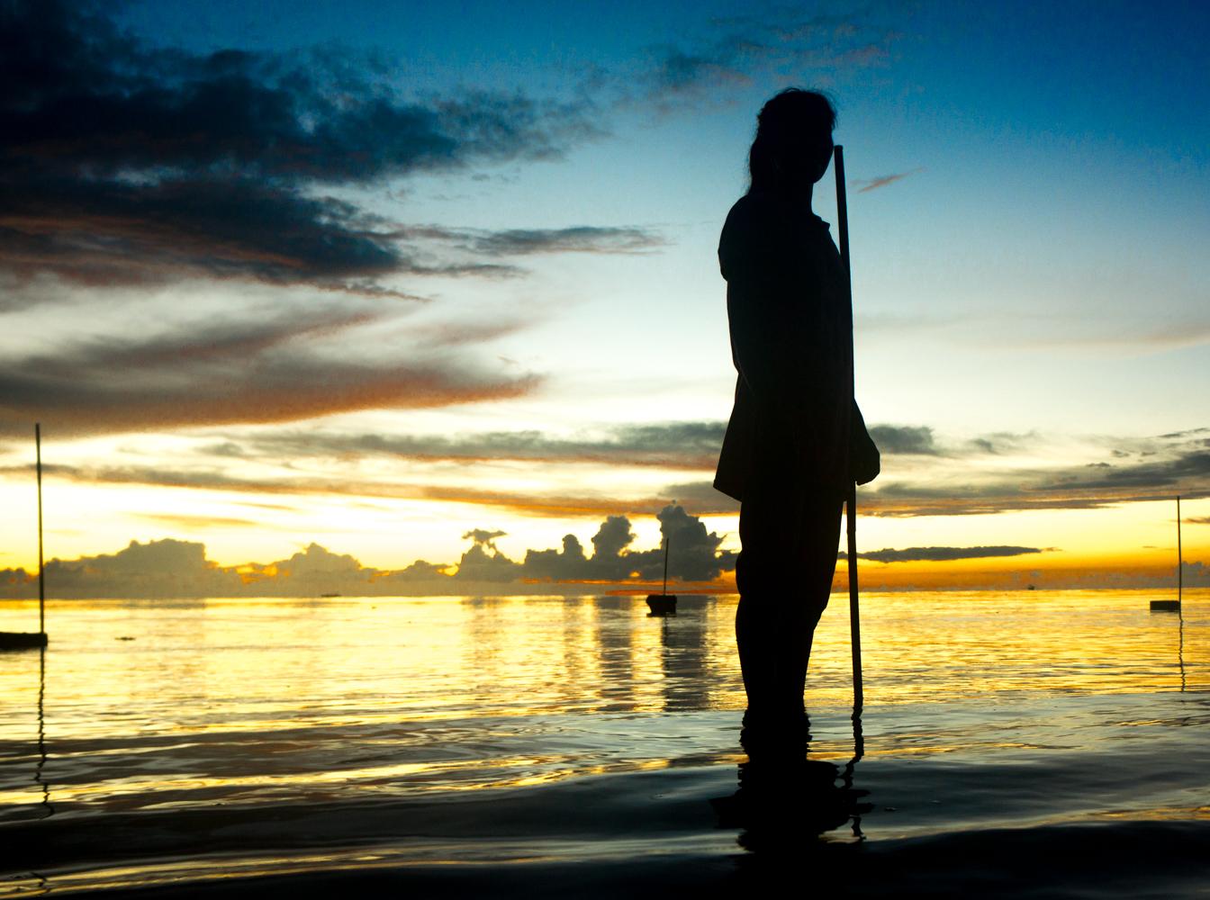 ron visser fotografie-krijger in zee
