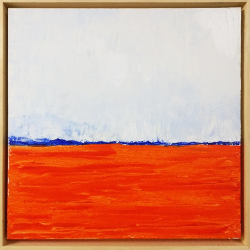 Oranje landschap