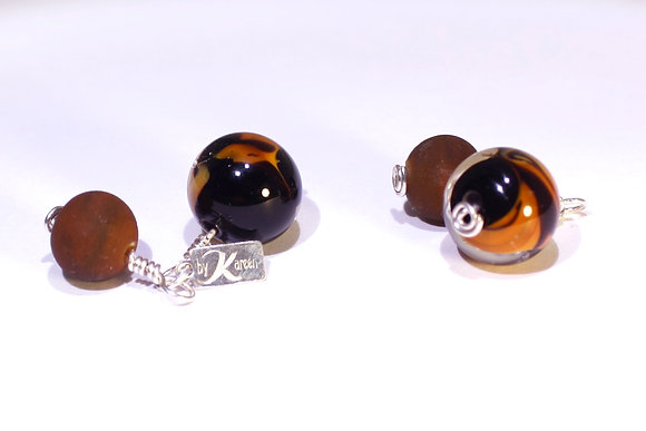In the Tiger's Eye Cufflinks