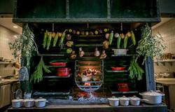 charter oak live fire grill