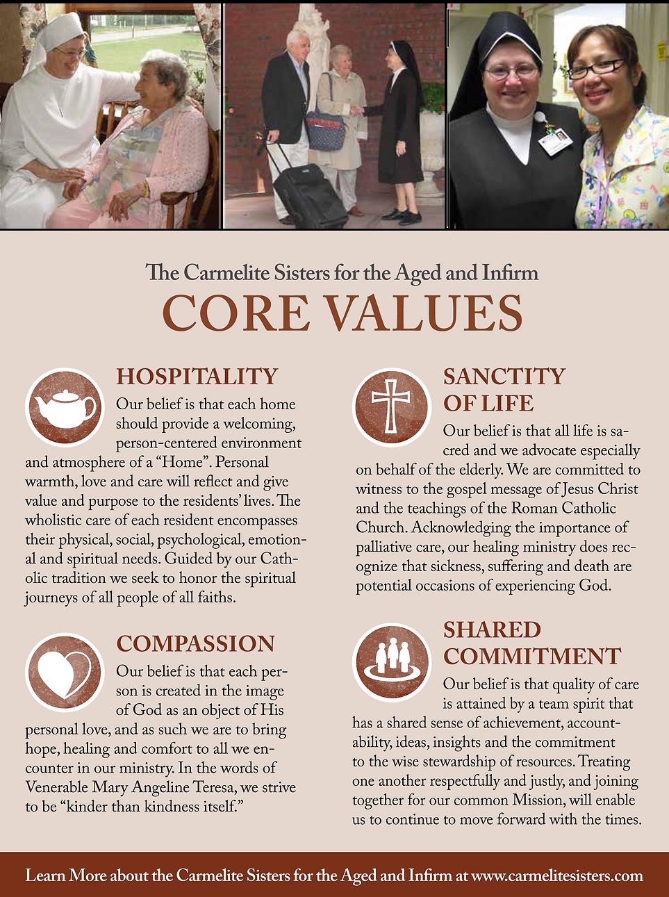 Ozanam Hall Nursing Home Of Queens Core Values