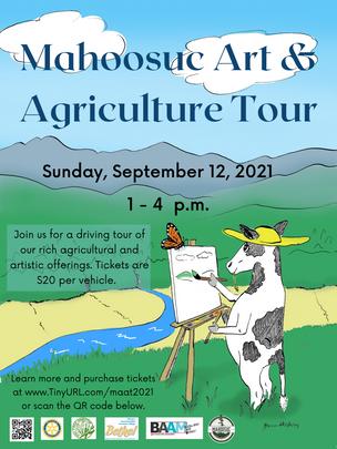 2021 Mahoosuc Art & Agriculture Tour
