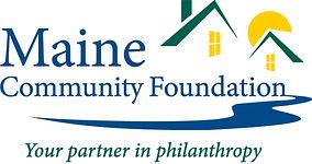 MaineCF logo with GreenTagline_CMYK_2019