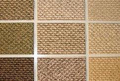 Selection of natural carpets