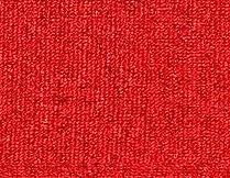 red loop pile carpet