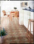Vinyl in kitchen