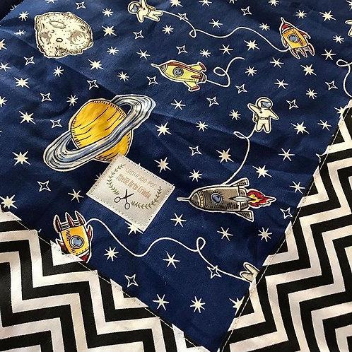Tapete Arte Criada - Astronauta