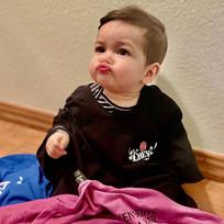 SO WHEN DO WE OPEN?!...Baby Mateo's face