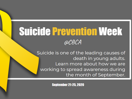 Suicide Prevention Week at CBCA