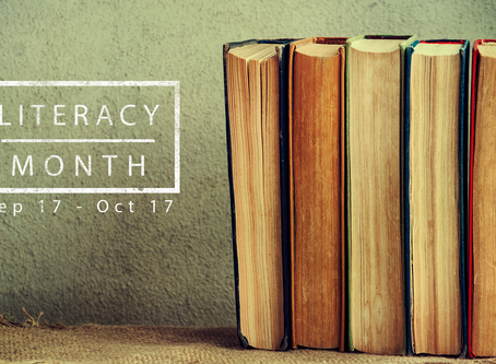 Literacy Month Begins!