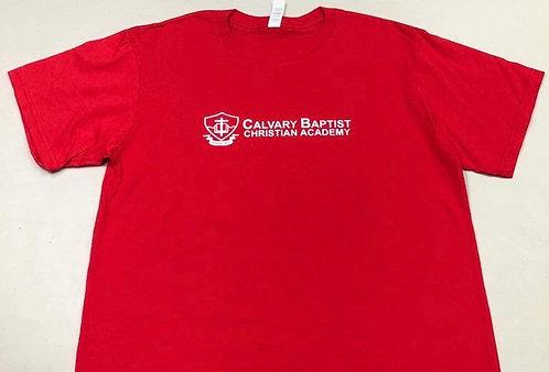 School House Shirt - Ruby