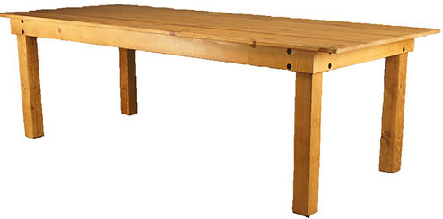 farm table adjustable monroe stain