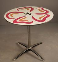 custom flower table