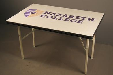 Custom college table