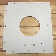 plastic side paneling