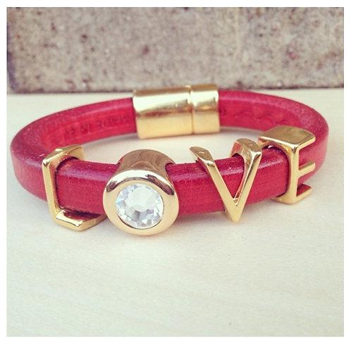 I Love Love Bracelet (RED)