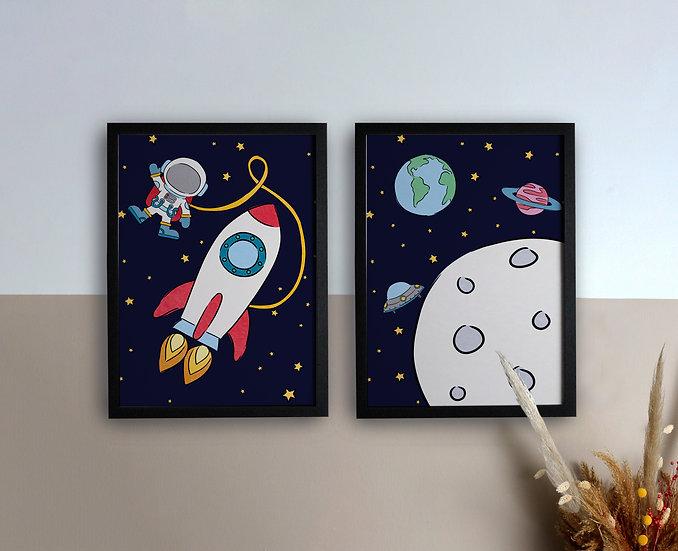 Space Scene Prints