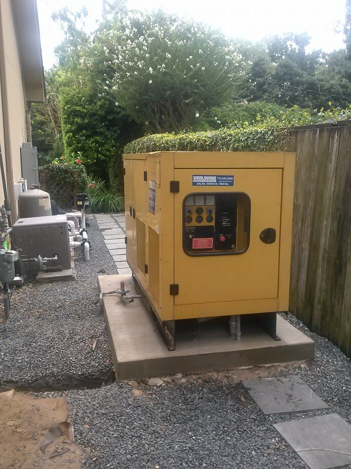 40KW Gaseous Generator Install