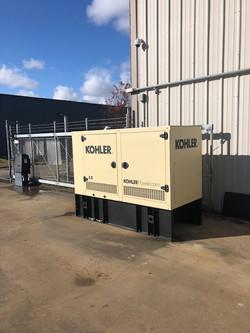 Diesel Generator Install