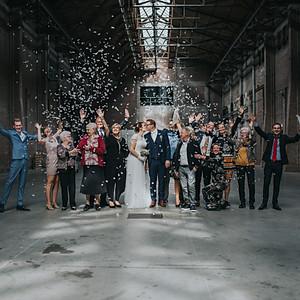 Wedding Djahmayhl & Lisanne