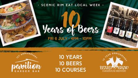 10 Years of Beers