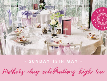 Mothers Day Celebrations High Tea