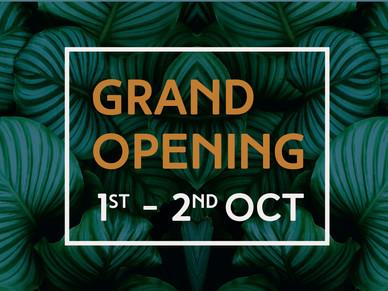 Pavilion Grand Opening