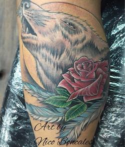 original wolf tattoo