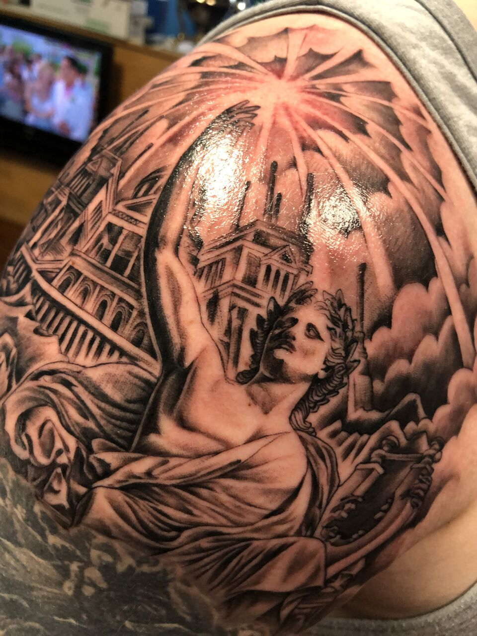 apollo temple tattoo