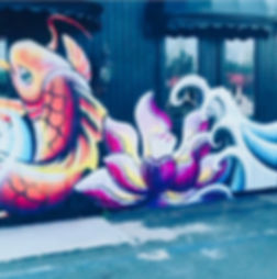 luli sushi mural