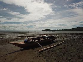 canoe in philipines