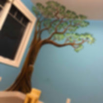 tree wall mural