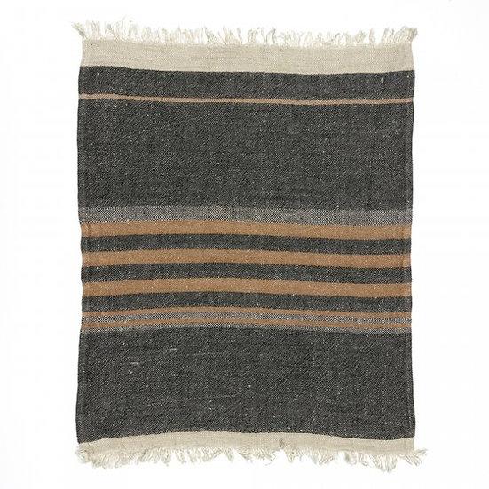 Handdoek Black stripe