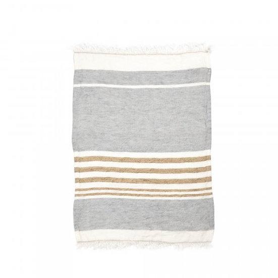 Handdoek Ash stripe