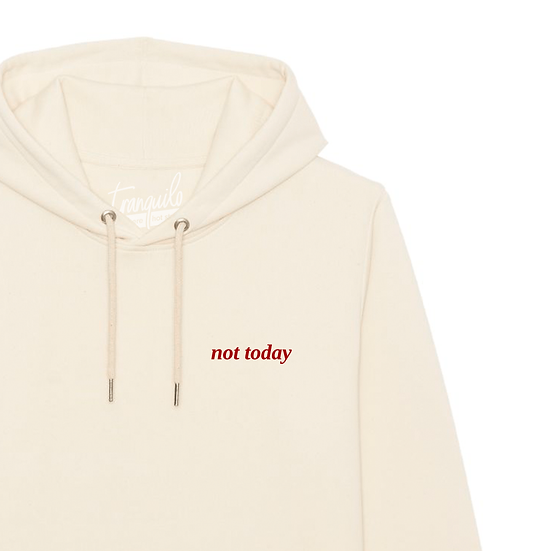 Hoodie M/V not today