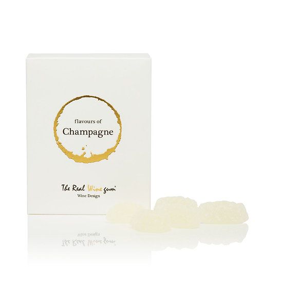 The real wine gum: Single pack Champagne
