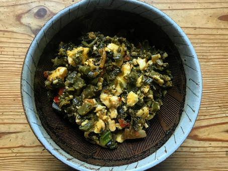 ackee and callaloo