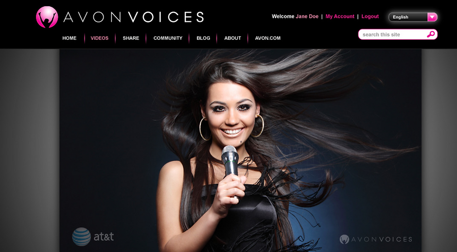 SUGARWICK created content that delivered Avon's message of empowerment to young women on a global scale