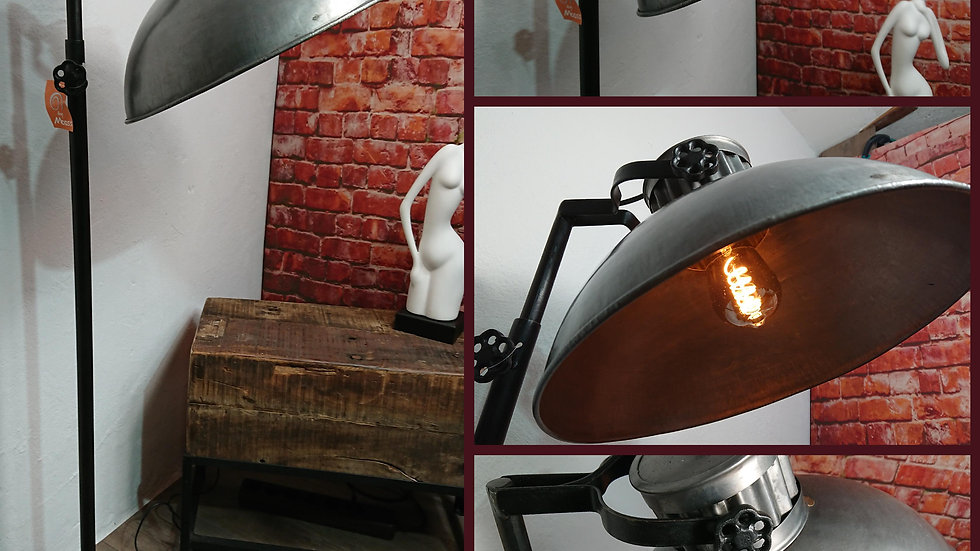 XL Industrie Stehlampe by Moos