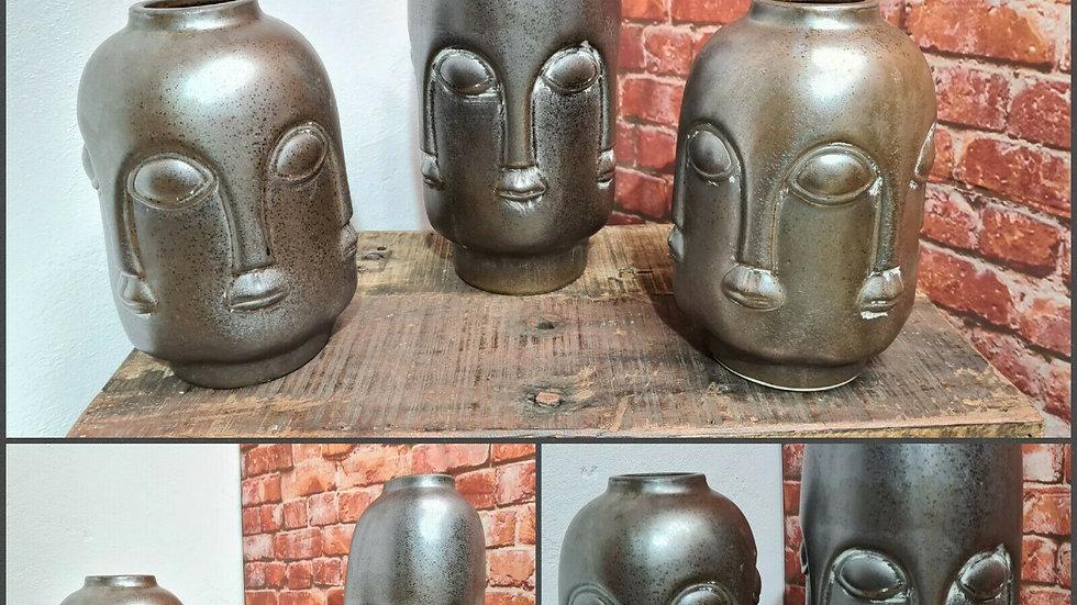 Gesicht Vase Carly L